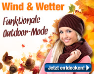 Funktionale Outdoor-Mode f�r Herbst und Winter