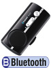 "Bluetooth Handy-Freisprecher ""Black Jewel"" mit Text-to-Speech"